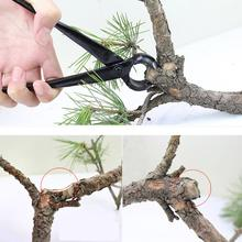 1pcs 210mm Professional Round Edge Concave Knob Branch Cutter  Tool Garden Bonsai Tools Purner New 2019 Garden Supplies Wood DIY master quality knob cutter bonsai tools concave cutter round edge cutter 210mm 8 1 4 carbon steel from tianbonsai