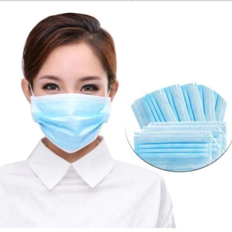 In Stock Sale 20Pcs One Time Mask PM2.5 Disposable Elastic Mouth Soft Breathable Face Mask