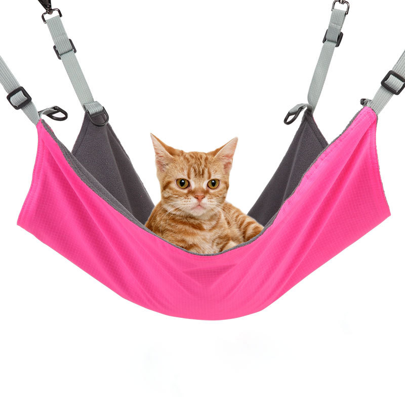 Cat Hammock Pet Supplies Cat Pad Cat Cage Hammock Cat Nest Cat Hammock New Style Washable And Negative Dual Purpose