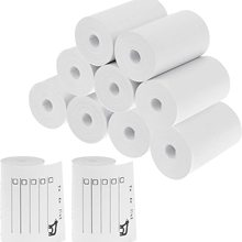 New Printable Sticker Paper Roll Direct Thermal Paper with Self-adhesive 57*30mm for PeriPage A6 Pocket Thermal Printer
