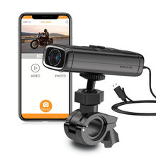 Sameuo – caméra vidéo Q1 pour moto, 1440P, tableau de bord, DVR, wifi, surveillance du stationnement 24H