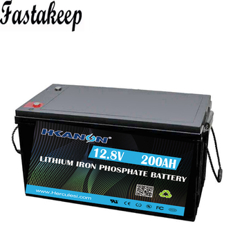 аккумулятор 2kw 2kwh 12V 200ah Lifepo4 Lithium ion Battery For Solar System/Motor Home/Boat/Camper Van/Golf Carts car battery image