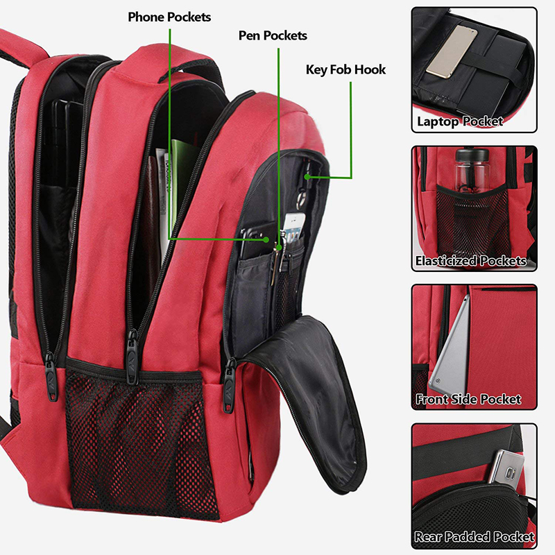 Red backpack-4