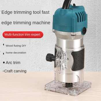 Multi-Function Woodworking Trimming Slotting Machine Engraving Machine ElectricWood Milling Wood Slotting Machine Electric Tools - DISCOUNT ITEM  70 OFF Tools
