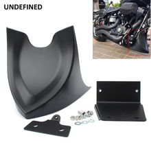For Harley Sportster XL 48 883 1200 Forty Eight Motorcycle Chin Lower Front Spoiler Air Dam Fairing Cover Black 2004 2018
