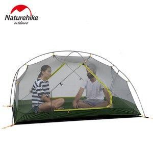 Image 5 - Naturehike في 2020 جديد Mongar 15D خفيفة التخييم خيمة 2 الأشخاص النايلون طبقة مزدوجة للماء في الهواء الطلق المحمولة تسلق الخيام