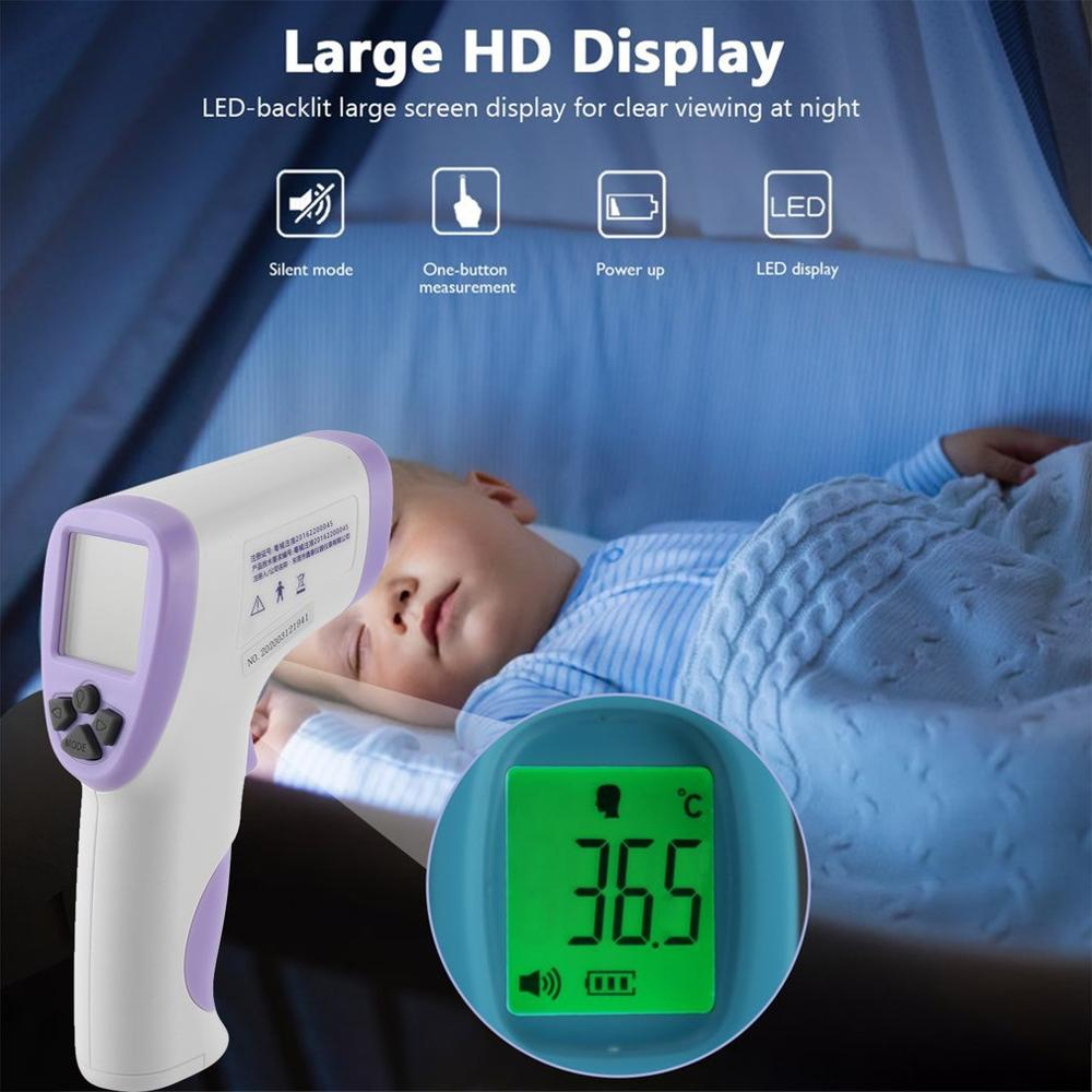 Hti HT-820D Handheld Infrared Thermometer High Precision Portable Thermometer Non-Contact Body Infrared Thermometer