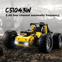 522pcs 2.4Ghz Technic City RC All Terrain Off Road Climbing Trucks Car Legoing Off Road Racing Building Blocks Bricks Toys Gifts