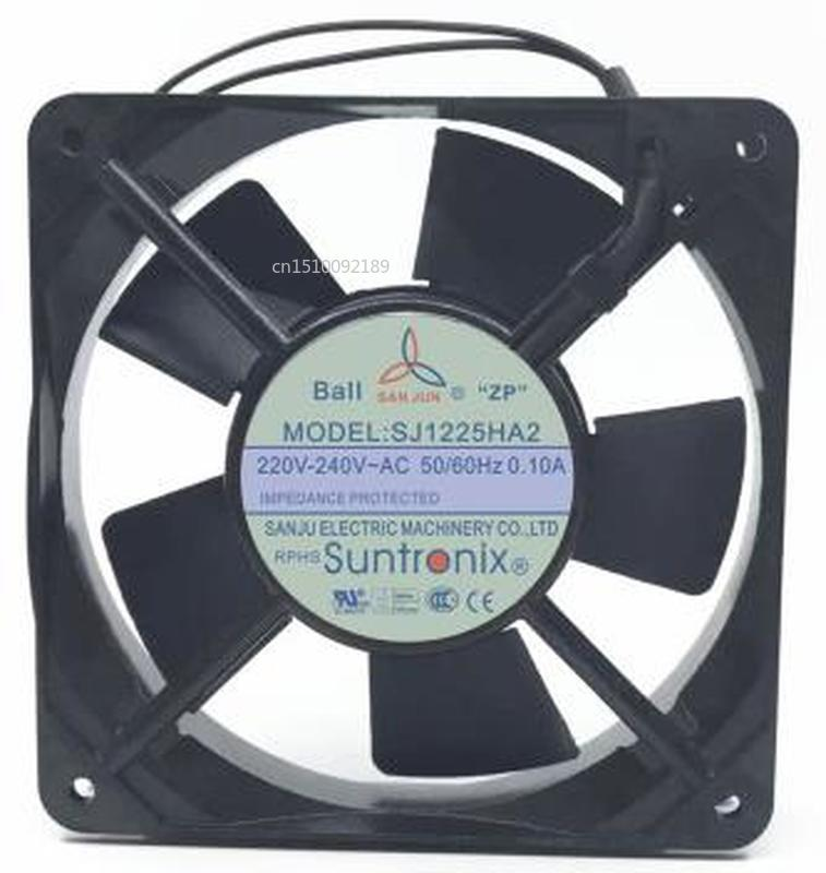 For SJ1225HA2 12025 AC220V 12CM Cabinet Axial Flow Cooling Fan Free Shipping