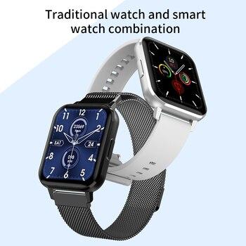 DTX Смарт-часы IP68 Водонепроницаемый 1,78 дюймов цветной экран ЭКГ монитор сердечного ритма во время сна VS DT78 DT35 DT X SmartWatch для мужчин и женщин, алиэкспресс официальный в рублях