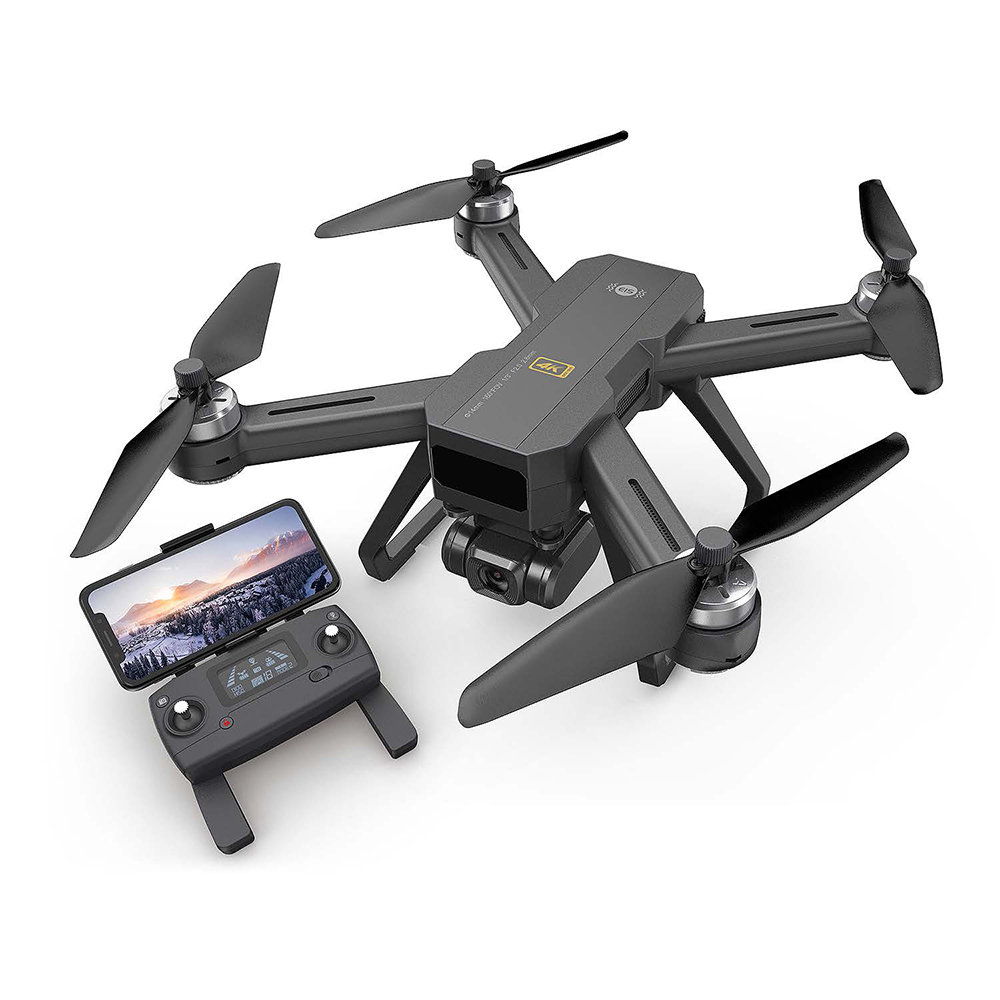 MJX B20 GPS <font><b>Drone</b></font> RTF With 4K <font><b>5G</b></font> WIFI Ajustable HD Wide Angle Camera Optical Flow Positioning Brushless Helicopter RC Quadcopter image