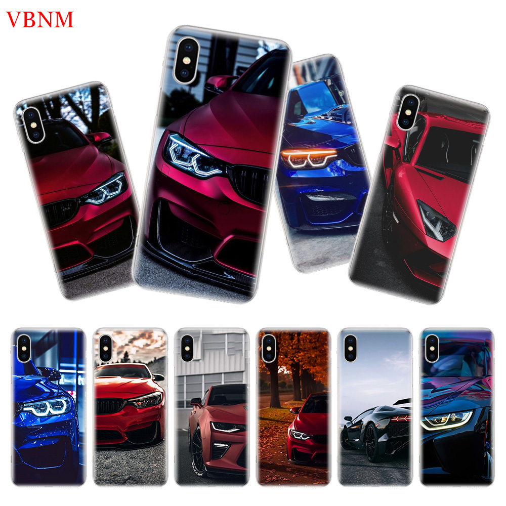 Blue Red <font><b>for</b></font> <font><b>Bmw</b></font> Back Cover Phone <font><b>Case</b></font> <font><b>For</b></font> <font><b>iPhone</b></font> 7 <font><b>8</b></font> 6 6S Plus X 10 Ten XS MAX XR 5 5S SE Art Fashion Shell Coque image