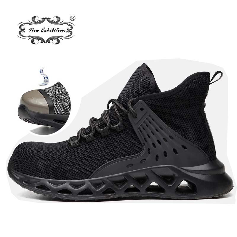 Work-Safety-Shoes Exhibition Protective-Indestructible Steel Plus-Size Men's Fashion