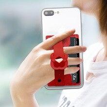 Универсальный держатель для телефона, кольцо на палец, роскошная наклейка, чехол для телефона, держатель для samsung Xiaomi, кошелек, подставка