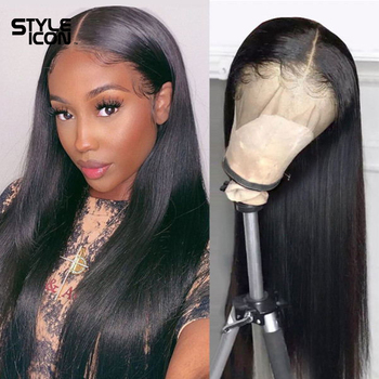 13x4 Lace Front Human Hair Wigs For Black Women 8-30 inches Straight 360 Frontal Styleicon Closure Wig - discount item  40% OFF Beauty Supply
