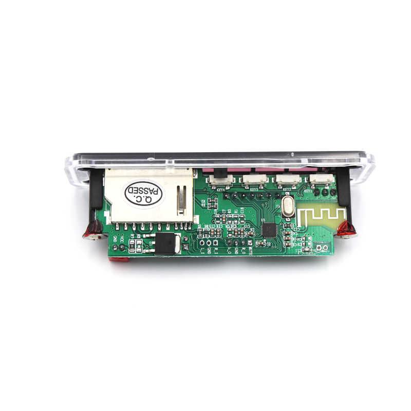 車の Bluetooth MP3 Wma デコーダボードモジュール 12V サポート USB SD AUX FM オーディオラジオ WAV FLAC APE のためカーアクセサリー