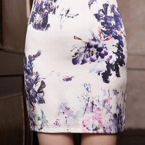 Image 5 - 2019 gerçek Cheongsam etek antik yollar geri yeni moda ve zarif mizaç yetiştirmek ahlak elbise toptan
