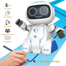 Newest Intelligent Voice Dialogue Voice Control Orbit Puzzle Singing Dancing Robot Education Toy