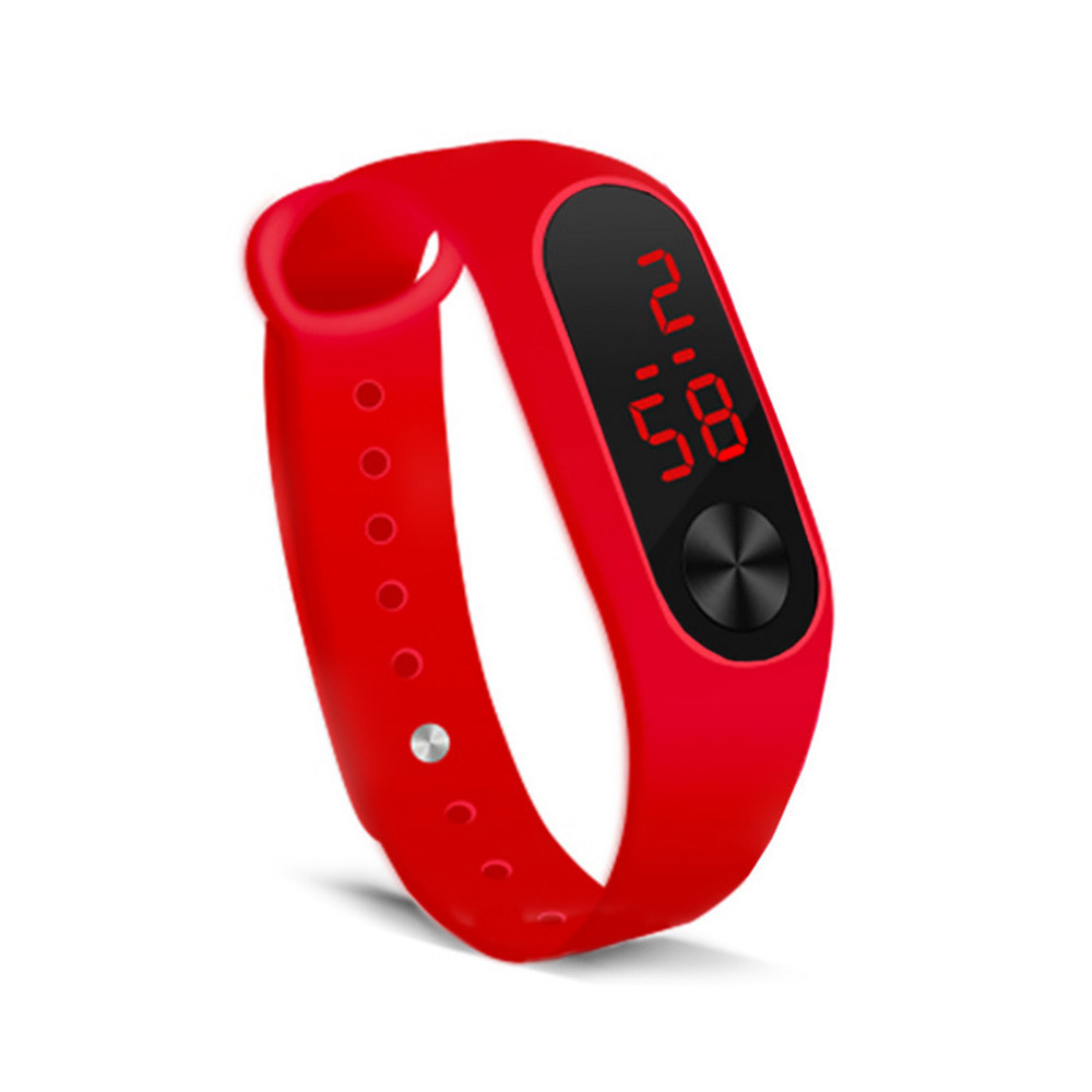 Electronic Beautiful Sports LED display watch bracelet watch 2021