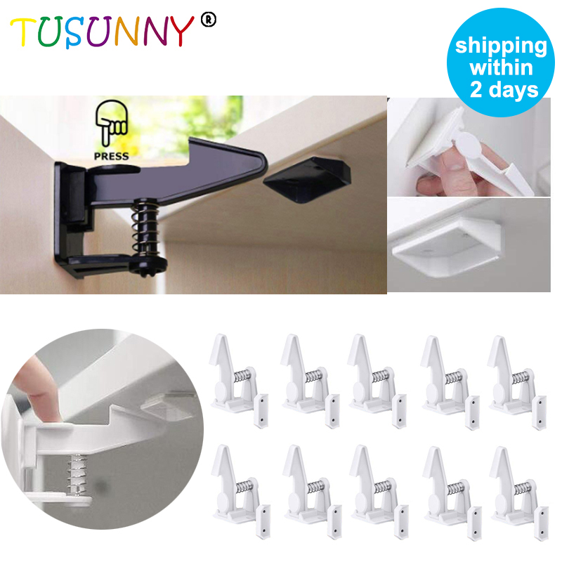 Ultimate SaleTUSUNNY Children Protection Cabinet-Lock Door-Safety Kids Drawer Baby Invisible for 10/20pcs