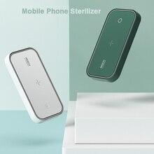 ROCCIA Del Telefono Mobile Sterilizzatore USB UV di Sterilizzazione Disinfezione Box Portatile Pieghevole Del Telefono Mobile Sterilizzatore Per La Maschera Del Telefono