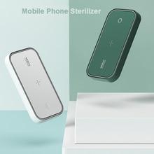 Stérilisateur de téléphone Portable de roche boîte de désinfection de stérilisation UV dusb stérilisateur pliable portatif de téléphone Portable pour le téléphone de masque