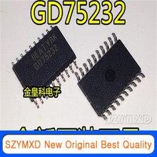 10 pçs/lote novo remendo original gd75232dwr 5 rs232 transceptor chip sop-20 chip em estoque