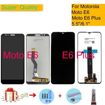 ORIGINAL For Motorola Moto E6 Screen E6 Plus LCD Display Touch Screen Digitizer Sensor Complete LCD Assembly Monitor Module цена 2017