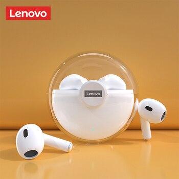 Lenovo LP40 LP80 TWS Bluetooth Earphone 9D HIFI Sound Mini Wireless Earbuds with Mic for iPhone Xiaomi Sport Headphone 1