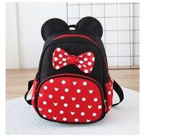 Gorący Mickey tornister Minnie chłopcy dziewczęta dzieci tornister plecak dla dzieci plecak przedszkolny tornister szkolny dla dzieci
