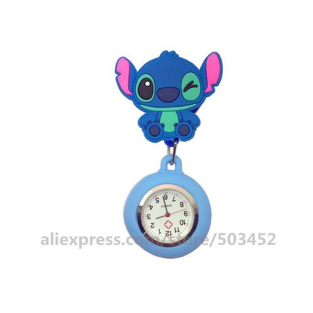100 ピース/ロット 110514 動物看護師は医師 Wathes 素敵な卸売ポケット女性ファッション医療腕時計