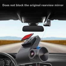 عدسة 140 درجة 720p HD للرؤية الليلية Dashcam V2 WiFi DVR لوحة القيادة للسيارة ، مرآة الرؤية الخلفية ، Tachograph عكس