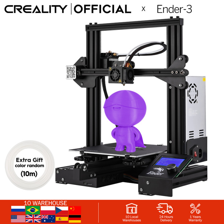 CREALITY 3D Printer Ender-3 Ender-3X Upgraded OptionalV-slot Resume Power Failure Printing Masks KIT Hotbed