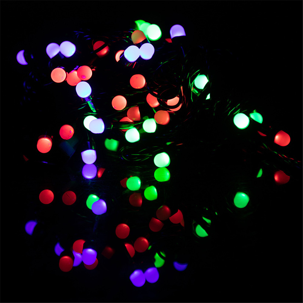 Waterproof Anti-fog 10M LED String Light  Festoon Lamps Indoor Outdoor Garland Party Holiday Christmas Decoration AC220V-240V EU