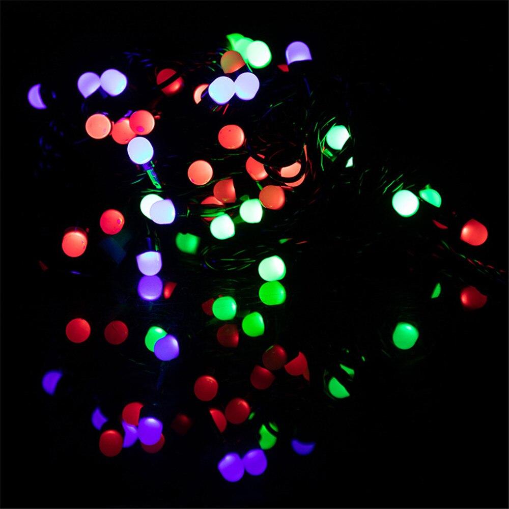 Waterproof Anti-fog 10M LED String Light Festoon Lamps Indoor Outdoor Garland Party Holiday Christmas Decoration AC220V-240V EU