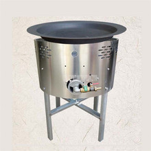 Многофункциональная жарочная печь, железная сковорода для жарки во фритюре, палочка для приготовления теста, печь для жарки пельменей, тесто, газовое топливо, коммерческое использование