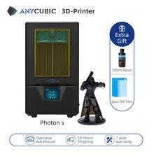ANYCUBIC Photon S 3d Drucker 2 Farben Schwarz/Weiß LCD Verbesserte Modul Matrix Dual Z achse SLA 3d Drucker impresora 3d Drucker