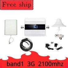 Banda 1 3G Ripetitore 2100MHz Repetidor LCD WCDMA 2100 MHZ Sinal de Reforço de Sinal Móvel Impulsionador/Amplificador Celular amplificador de telefone