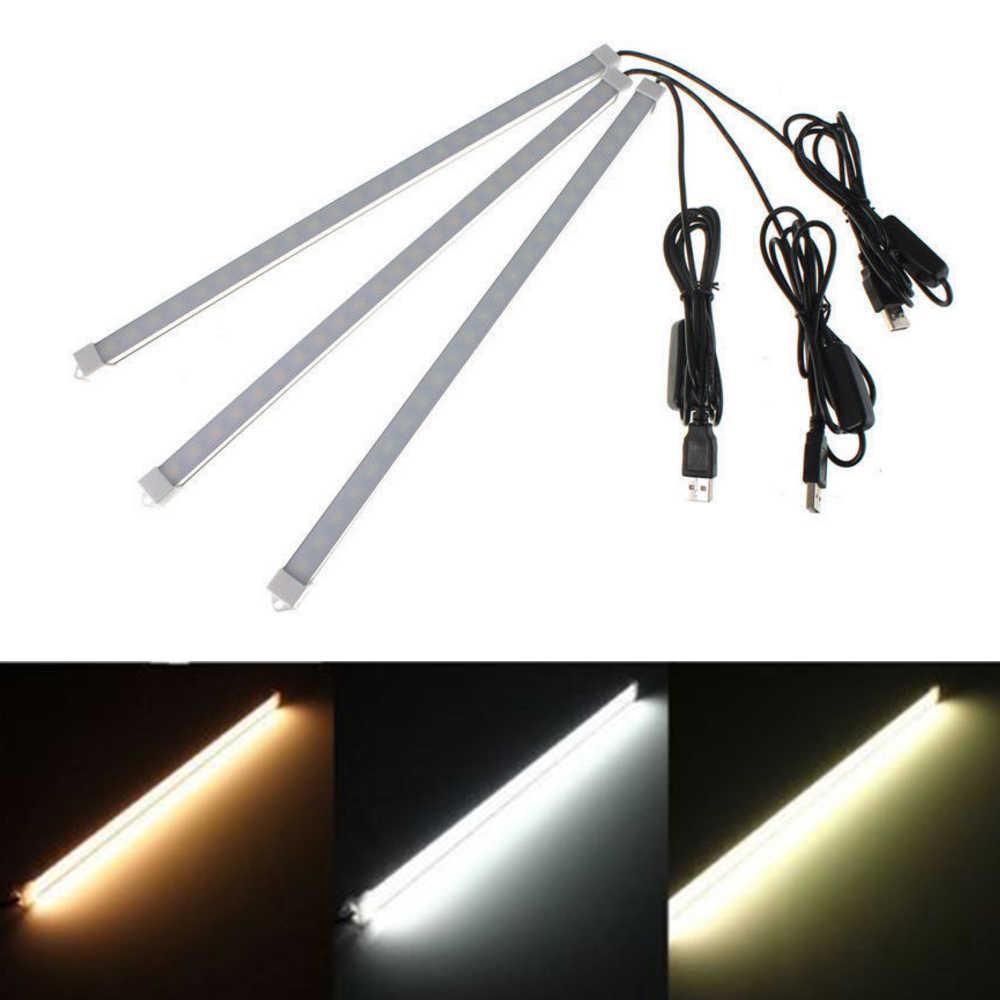 Lampe rigide de Tube de Recharge de lumière de barre dure actionnée par USB de lumière de barre de LED de cc 5V 5630 avec la couverture blanche laiteuse blanc naturel/blanc