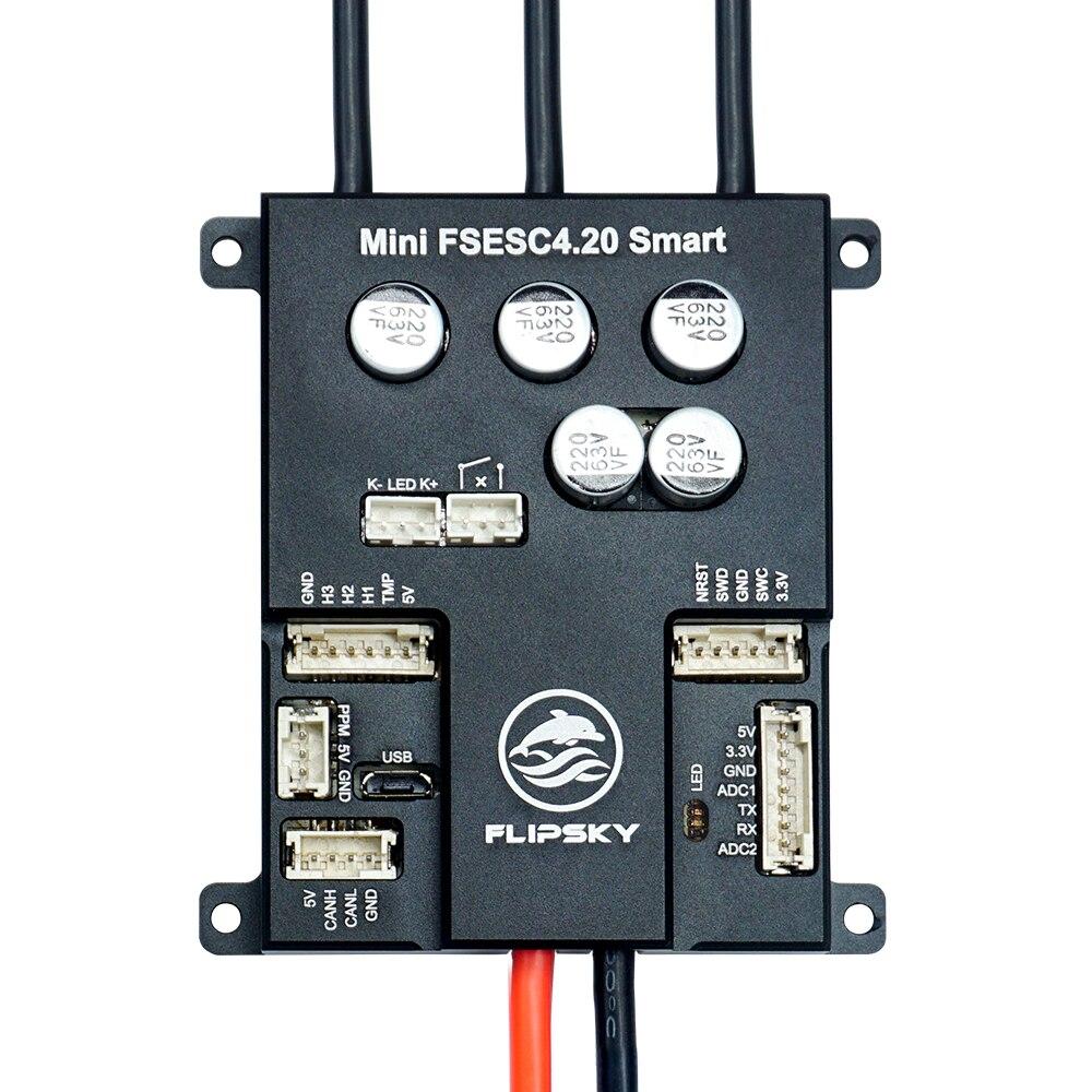 New Arrival Aluminum Substrate Mini FSESC 4.20 Smart 3-12s Single ESC based on VESC4 for sk8/scooter/robotFlipsky