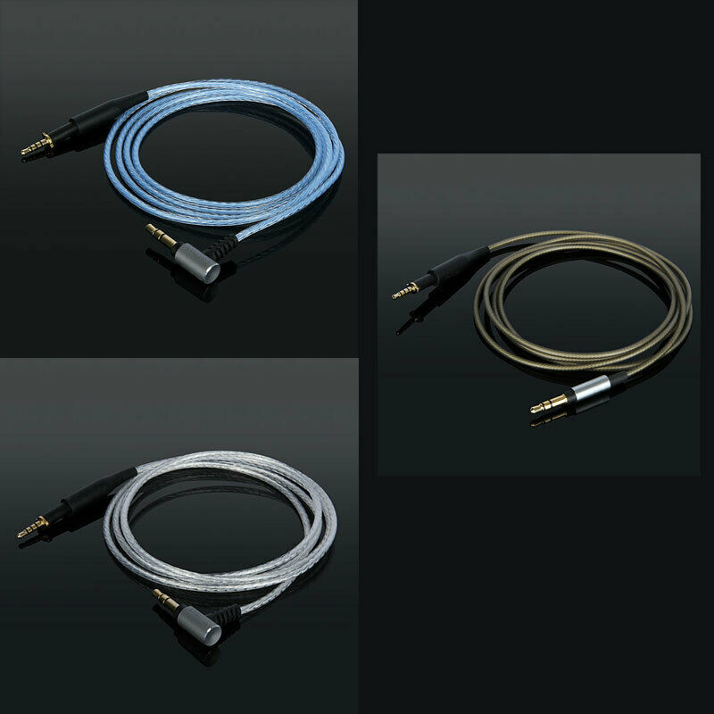 Silver Plated Upgrade Audio Cable For AK K450 K451 K452 Q460 K480 Headphones