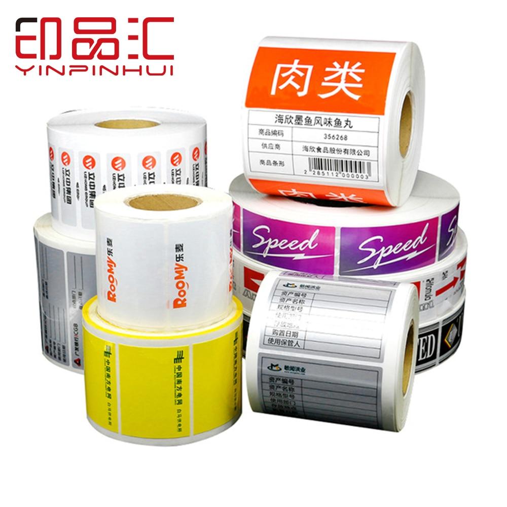 Thermal Printer Using Print Paper Customizable Adhesive Print Labels