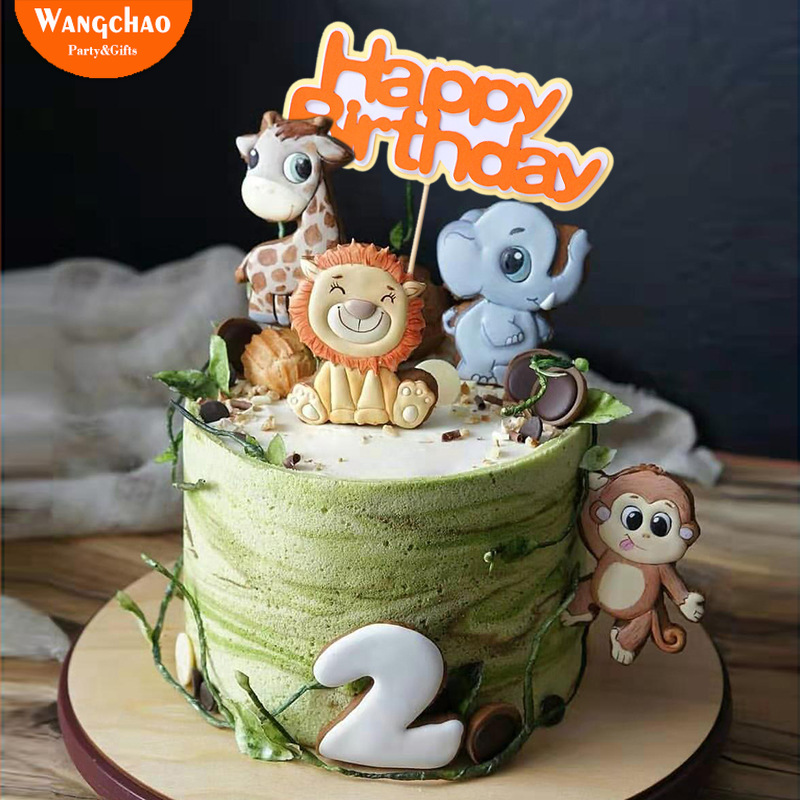 Tremendous 5247E6 Buy Safari Themed Birthday Party Supplies And Get Free Funny Birthday Cards Online Chimdamsfinfo