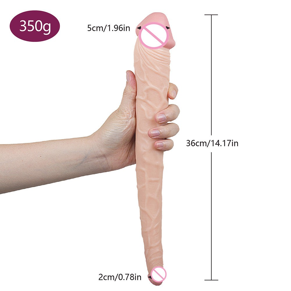 Double Sided Dildo | 14.17 Inch
