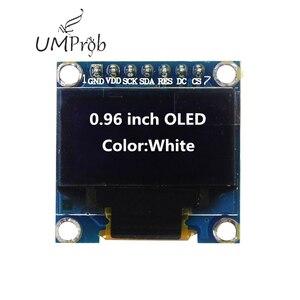 Image 3 - 0.91 Inch 128X32 IIC I2C Trắng/Xanh Dương OLED Màn Hình Hiển Thị LCD Module DIY SSD1306 IC Điều Khiển DC 3.3V 5V Cho Arduino