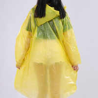 Impermeable al aire libre ropa impermeable desechable ropa impermeable fácil de llevar ropa impermeable al aire libre