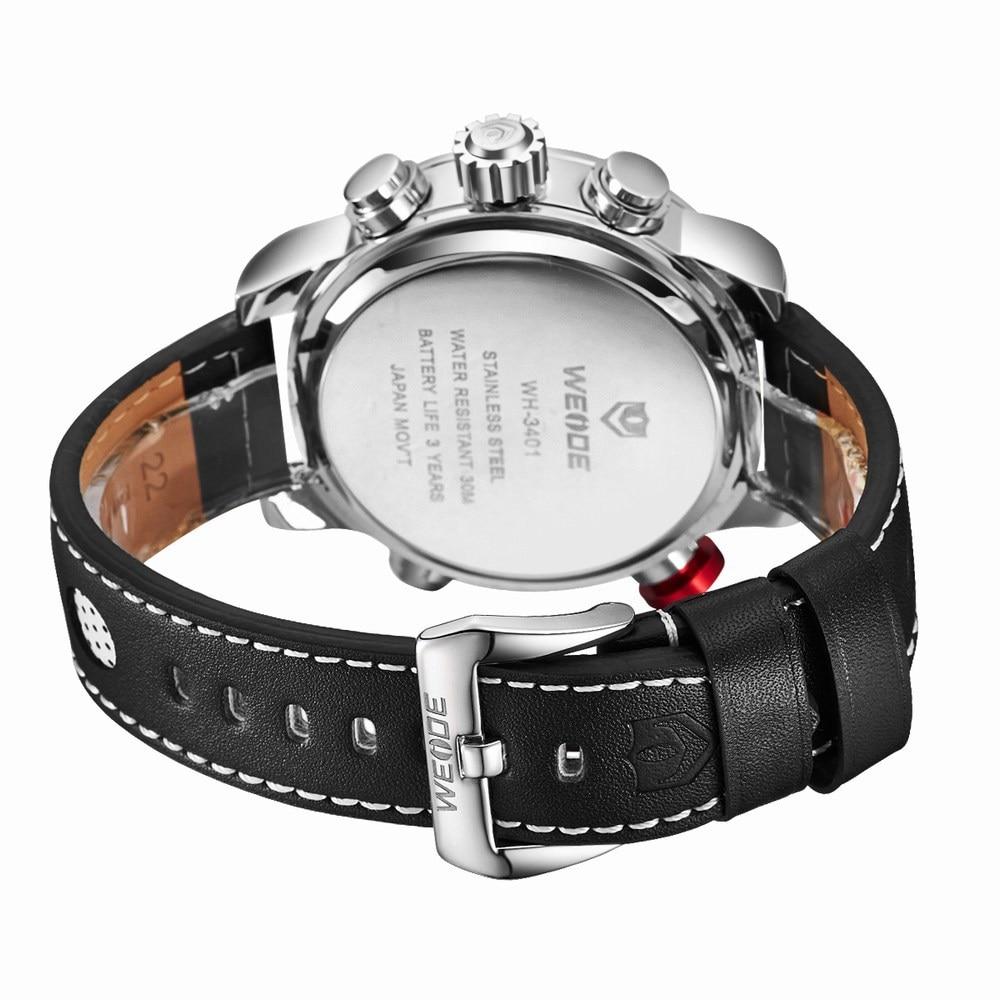 H58275e3c3bbb4a208b6f80b10307a0cbL Weide watch Men Luxury Top Brand Quartz Watch Fashion Business Male Watch Shockproof Luminous Wristwatch