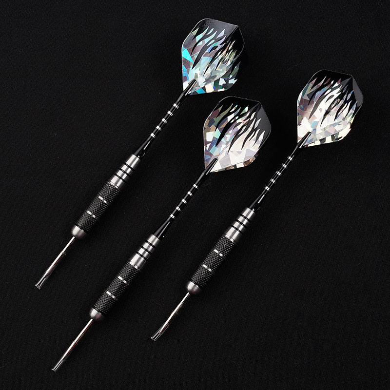 New 3pcs/Set 22g Professional <font><b>Tungsten</b></font> Steel Needle Tip <font><b>Darts</b></font> With <font><b>Dart</b></font> Flights Sports <font><b>Darts</b></font> Shafts image