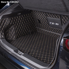 For Mazda Cx 30 Cx30 2020 2021 Car Rear Trunk Mats Floor Trunk Mats Boot Liner Luggage Tray Cargo Protector 2019
