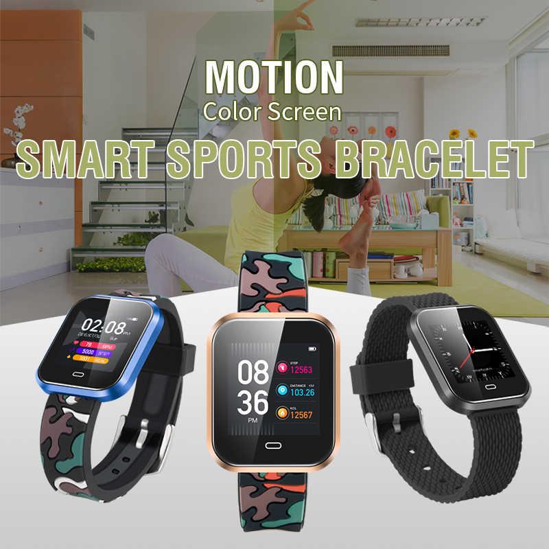CD16 умные часы на Android с крови Давление монитор сердечного ритма Шагомер Секундомер спортивные умные часы Мужская мода смарт-одежда